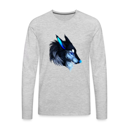 Wolfey Mans T - Men's Premium Long Sleeve T-Shirt