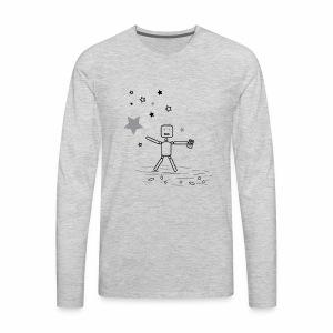 CHASiN STARZ - Men's Premium Long Sleeve T-Shirt