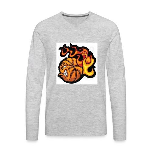 Fire Ball - Men's Premium Long Sleeve T-Shirt