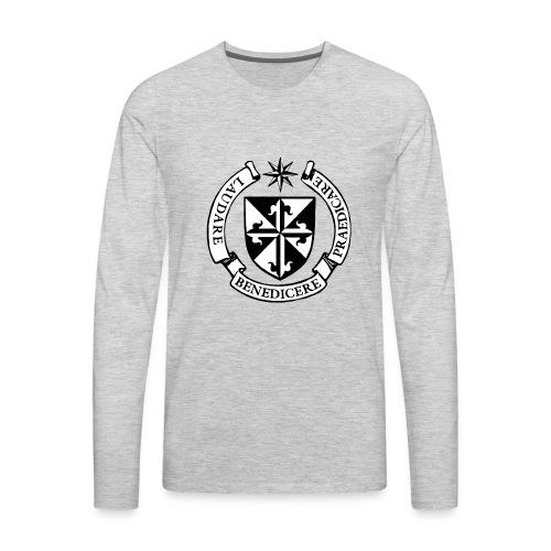 Dominican Logo - Men's Premium Long Sleeve T-Shirt