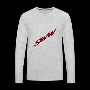 SWW Logo - Men's Premium Long Sleeve T-Shirt