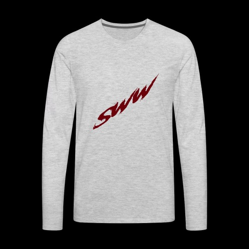 SWW Logo - Men's Premium Long Sleeve T-Shirt