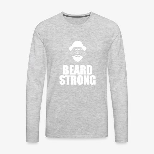 Strong Beards - Men's Premium Long Sleeve T-Shirt