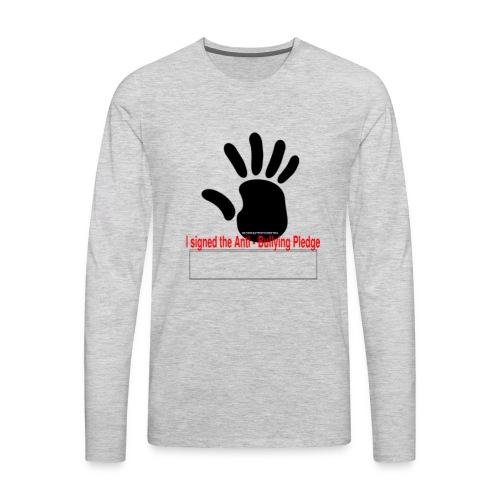 Bully pledge - Men's Premium Long Sleeve T-Shirt