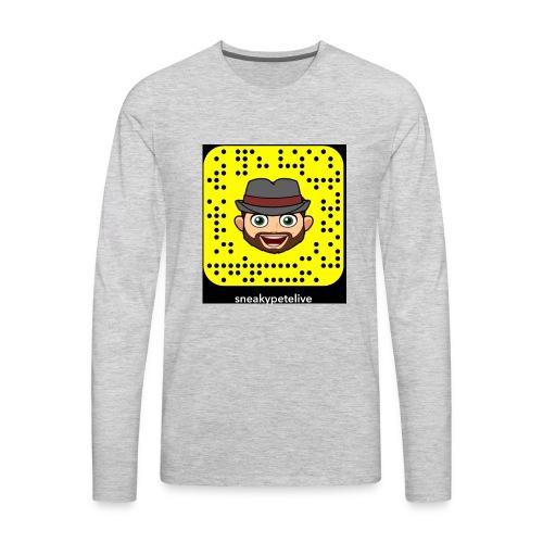 SNEAKYPETELIVE - Men's Premium Long Sleeve T-Shirt