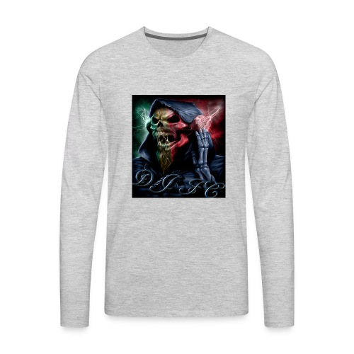 Dj fc blue - Men's Premium Long Sleeve T-Shirt