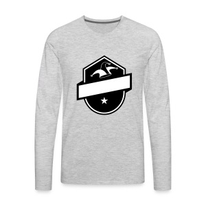 Jokerz Apparel Logo - Men's Premium Long Sleeve T-Shirt