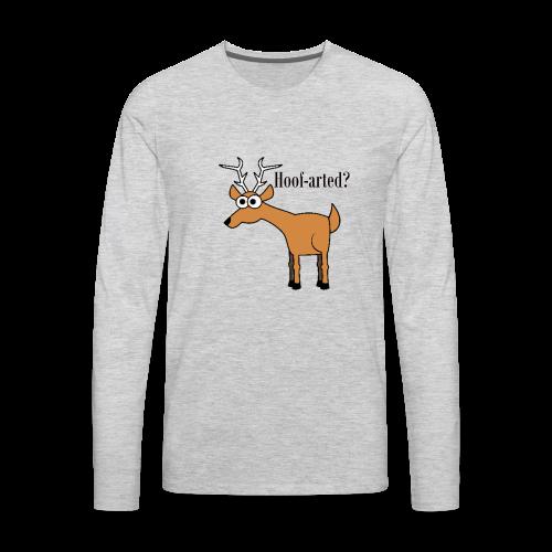 Hoof-arted? - Men's Premium Long Sleeve T-Shirt