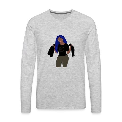 JeiDior Illustration - Men's Premium Long Sleeve T-Shirt