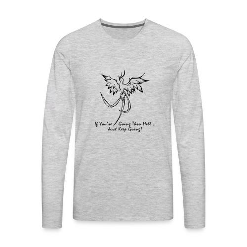 goingthruhell3000 - Men's Premium Long Sleeve T-Shirt