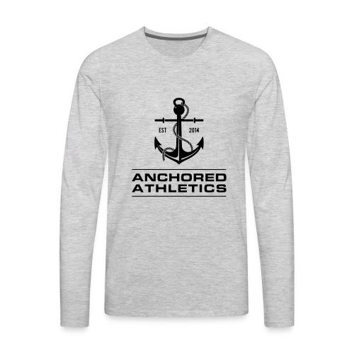 Anchored Athletics Classic Logo - Men's Premium Long Sleeve T-Shirt