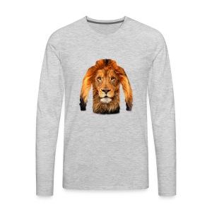 لبس أسد - Men's Premium Long Sleeve T-Shirt
