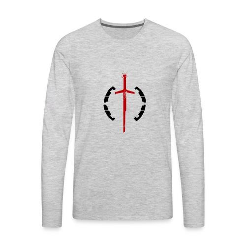 Faction Sword Logo V2 - Men's Premium Long Sleeve T-Shirt