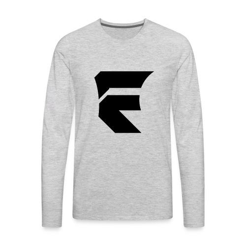 Fallen Logo PNG Black - Men's Premium Long Sleeve T-Shirt