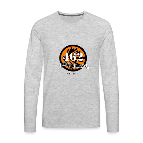 462 logo - Men's Premium Long Sleeve T-Shirt