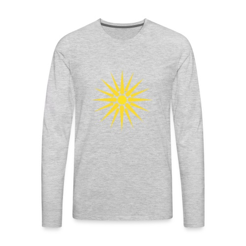 MACEDONIA - Men's Premium Long Sleeve T-Shirt