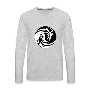 Dragon Circle - Men's Premium Long Sleeve T-Shirt