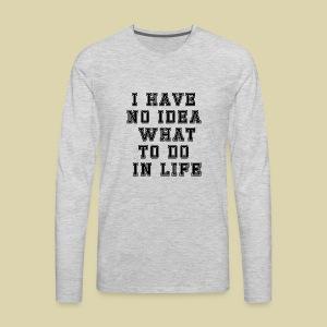 No Idea - Men's Premium Long Sleeve T-Shirt