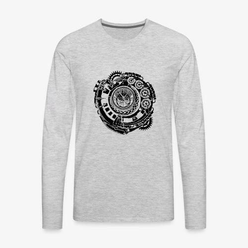 Time Machine - Men's Premium Long Sleeve T-Shirt