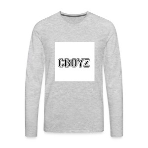 C Boyz logo - Men's Premium Long Sleeve T-Shirt