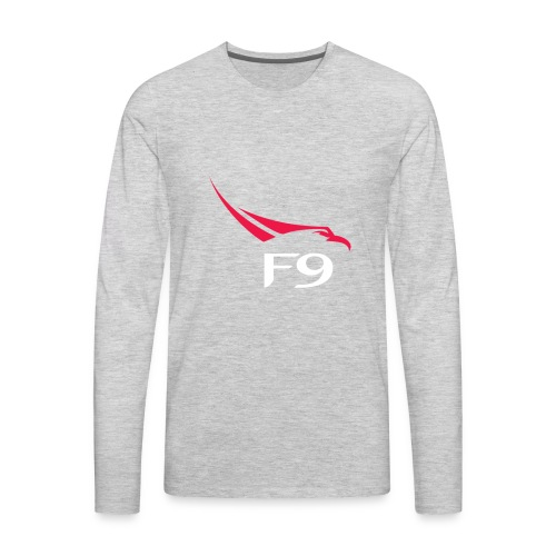 SpaceX Falcon Heavy logo - Men's Premium Long Sleeve T-Shirt
