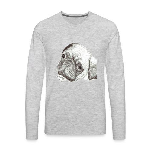 Pug - Men's Premium Long Sleeve T-Shirt