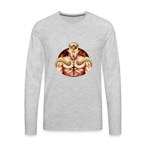 God Fist Lee sin Design - Men's Premium Long Sleeve T-Shirt