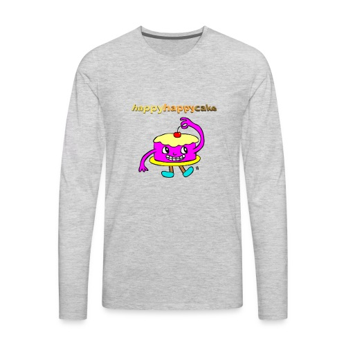 happyhappycake - Men's Premium Long Sleeve T-Shirt