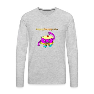 happyhappycake - Men's Premium Long Sleeve T-Shirt