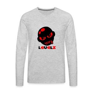 Levelz Black & Red - Men's Premium Long Sleeve T-Shirt