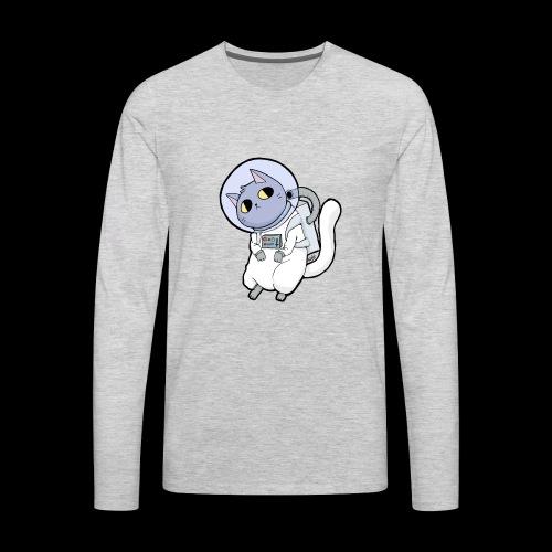 SpaceCat - Men's Premium Long Sleeve T-Shirt