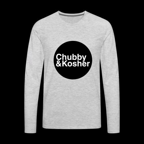 Chubby & Kosher - Men's Premium Long Sleeve T-Shirt