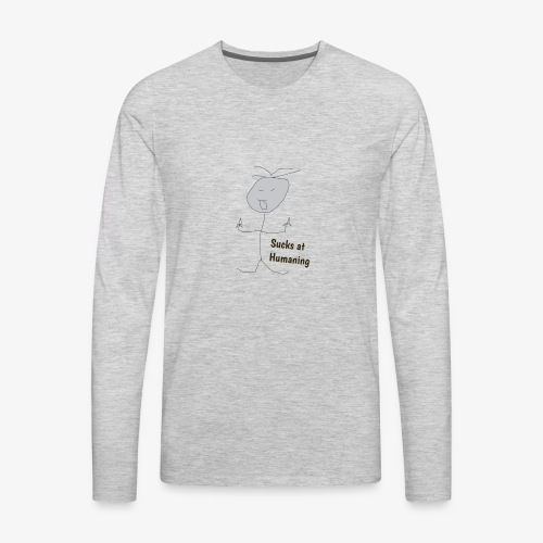 suckit2 - Men's Premium Long Sleeve T-Shirt