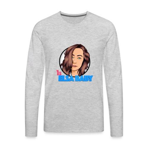 ItsElsaBaby Hoodie - Men's Premium Long Sleeve T-Shirt