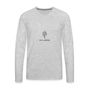 Insta name - Men's Premium Long Sleeve T-Shirt