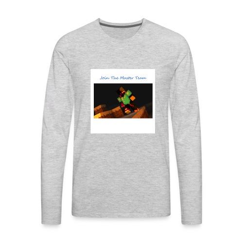 Team - Men's Premium Long Sleeve T-Shirt