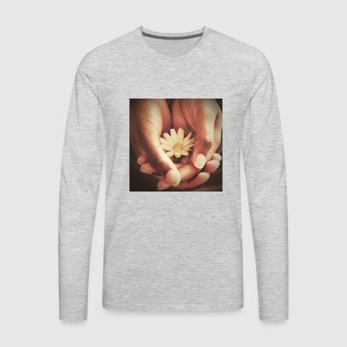 In Loving Hands - Men's Premium Long Sleeve T-Shirt