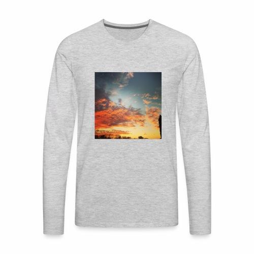 Beautiful Sky - Men's Premium Long Sleeve T-Shirt