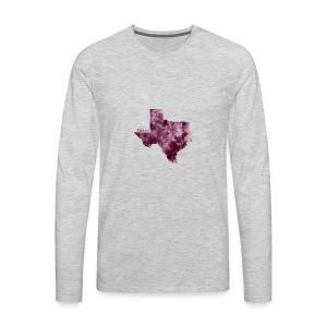 Texas - Men's Premium Long Sleeve T-Shirt