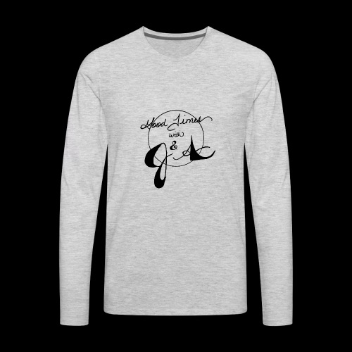 Good Times LOGO - Men's Premium Long Sleeve T-Shirt