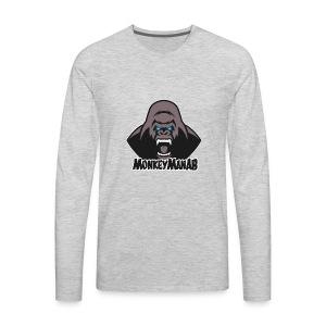 MonkeyManAB Logo - Men's Premium Long Sleeve T-Shirt