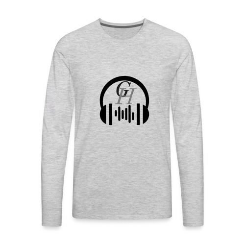 GH headphone design - Men's Premium Long Sleeve T-Shirt