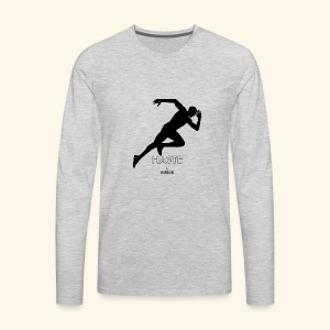 hastebyhussain - Men's Premium Long Sleeve T-Shirt
