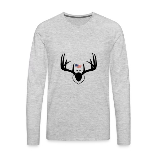 FREE TO HUNT - Men's Premium Long Sleeve T-Shirt