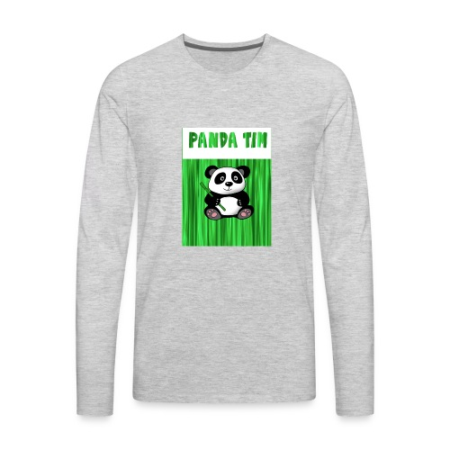Panda Tim - Men's Premium Long Sleeve T-Shirt