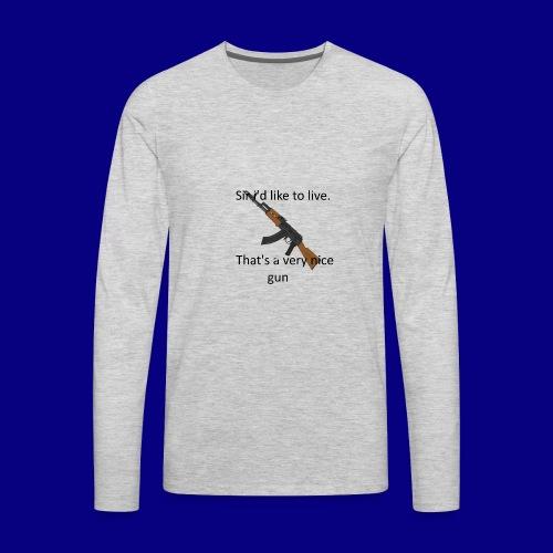 memes - Men's Premium Long Sleeve T-Shirt