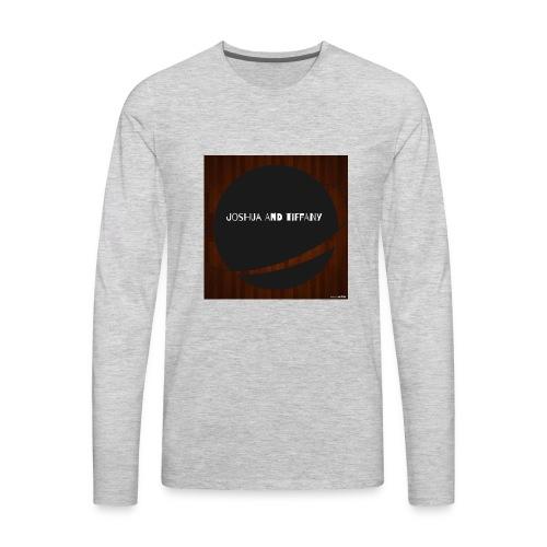 joshua and tiffany - Men's Premium Long Sleeve T-Shirt
