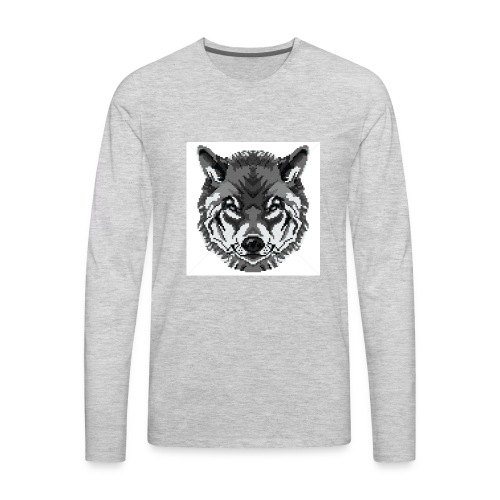 FreezingWolif - Men's Premium Long Sleeve T-Shirt