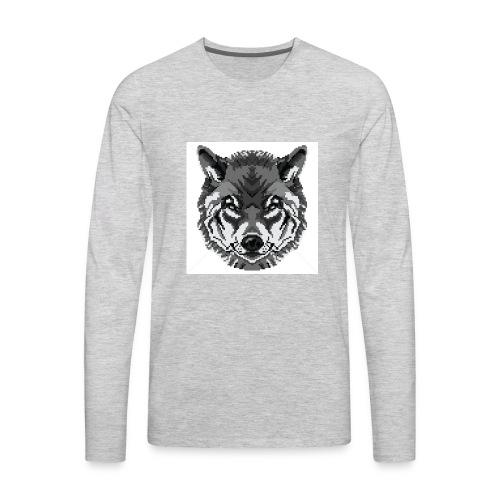 FreezingWolif - Men's Premium Long Sleeve T-Shirt