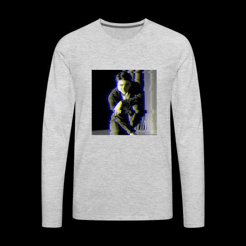 Life was never the same - Men's Premium Long Sleeve T-Shirt